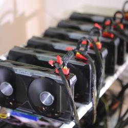 تراجع أسعار كروت التعدين (GPU) بسبب إنخفاض أسعار العملات الرقمية
