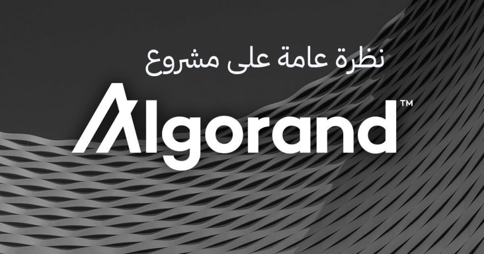 نظرة عامة على مشروع Algorand