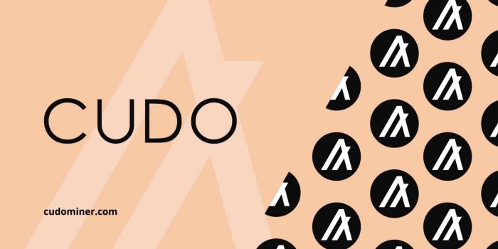 منصة CUDO تقوم بتوفير رمز ALGO لتلقي مكافأت التعدين