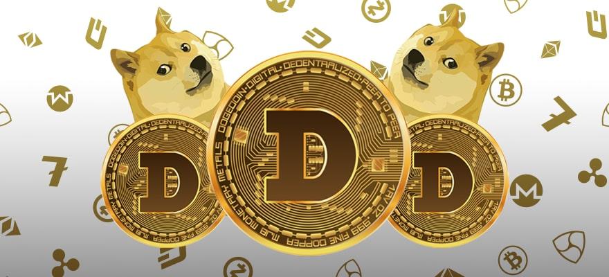 أرتفاع سعر دوجكوين (Doge) و يصل إلي المرتبة الثامنه من حيث ترتيب القيمة السوقيه للعملات الرقميه