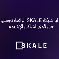 مزايا شبكة SKALE الرائعة تجعلها حل قوي لمشاكل الإيثريوم