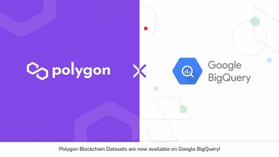 إضافة بيانات بلوكتشين Polygon في خدمة جوجل السحابيه
