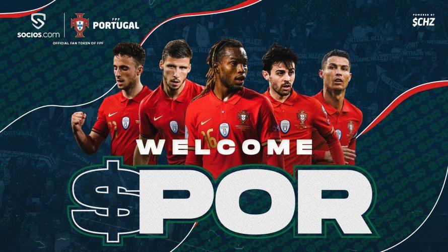 المنتخب البرتغالي لكرة القدم يُطلق توكن للمشجعين مع سوسيوس
